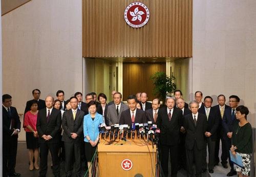 Photo Credit: 2017年普選行政長官Facebook