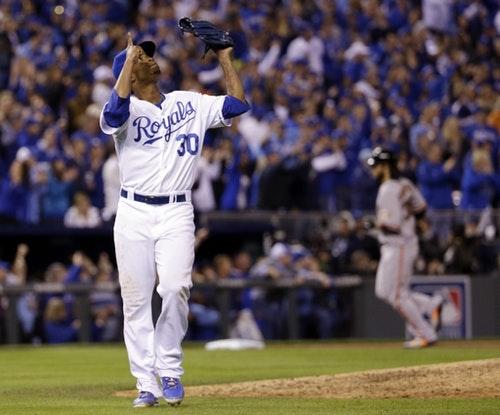 七局無失分的皇家投手Ventura。Photo Credit: AP / 達志影像