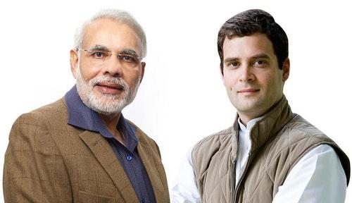 Narendra Modi and Rahul Gandhi|Photo Credit:  Global Panorama @ Flickr CC BY SA 2.0