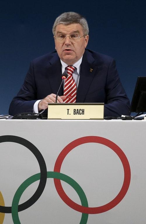 國際奧會主席Thomas Bach。Photo Credit: AP / 達志影像