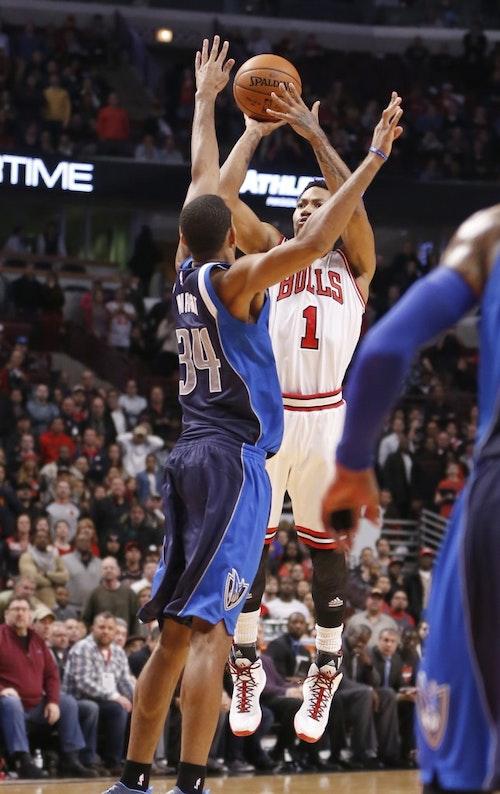 Rose今天投了三次關鍵壓哨球。Photo Credit: AP / 達志影像