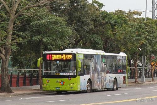 大都會客運41。Photo Credit:大台北公車路網全覽圖