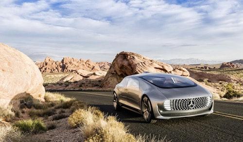 MERCEDES-BENZ的無人駕駛概念車F015 Luxury inMotion
