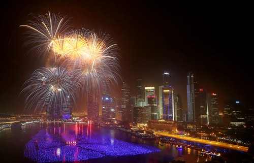 Singapore New Years Eve