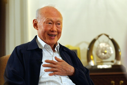 Mr. Lee Kuan Yew 李光耀