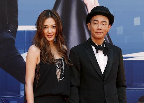陳小春及其妻應采兒/Photo Credit:Reuters/ 達志影像