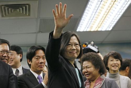 Tsai Ing-wen 民進黨 蔡英文
