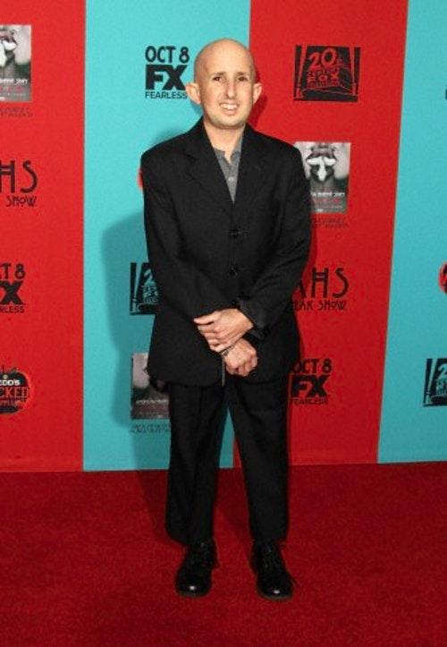 班伍爾夫出席加州中國戲院的《美國恐怖故事:畸形秀》首映會。攝於2014年10月5日。Photo Credit:Corbis