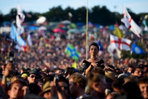6月26日的音樂節盛況。Photo Credit:Reuters/達志影像