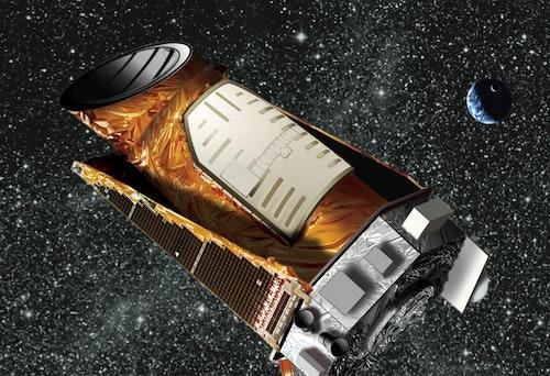 克卜勒太空望遠鏡畫家意想圖Photo Credit: NASA/JPL-Caltech/Wendy Stenzel