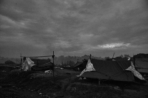 尼泊爾首都加德滿都(Kathmandu)初冬的村落