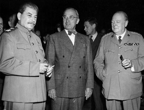 波茨坦會議。Photo Credit:wikipedia