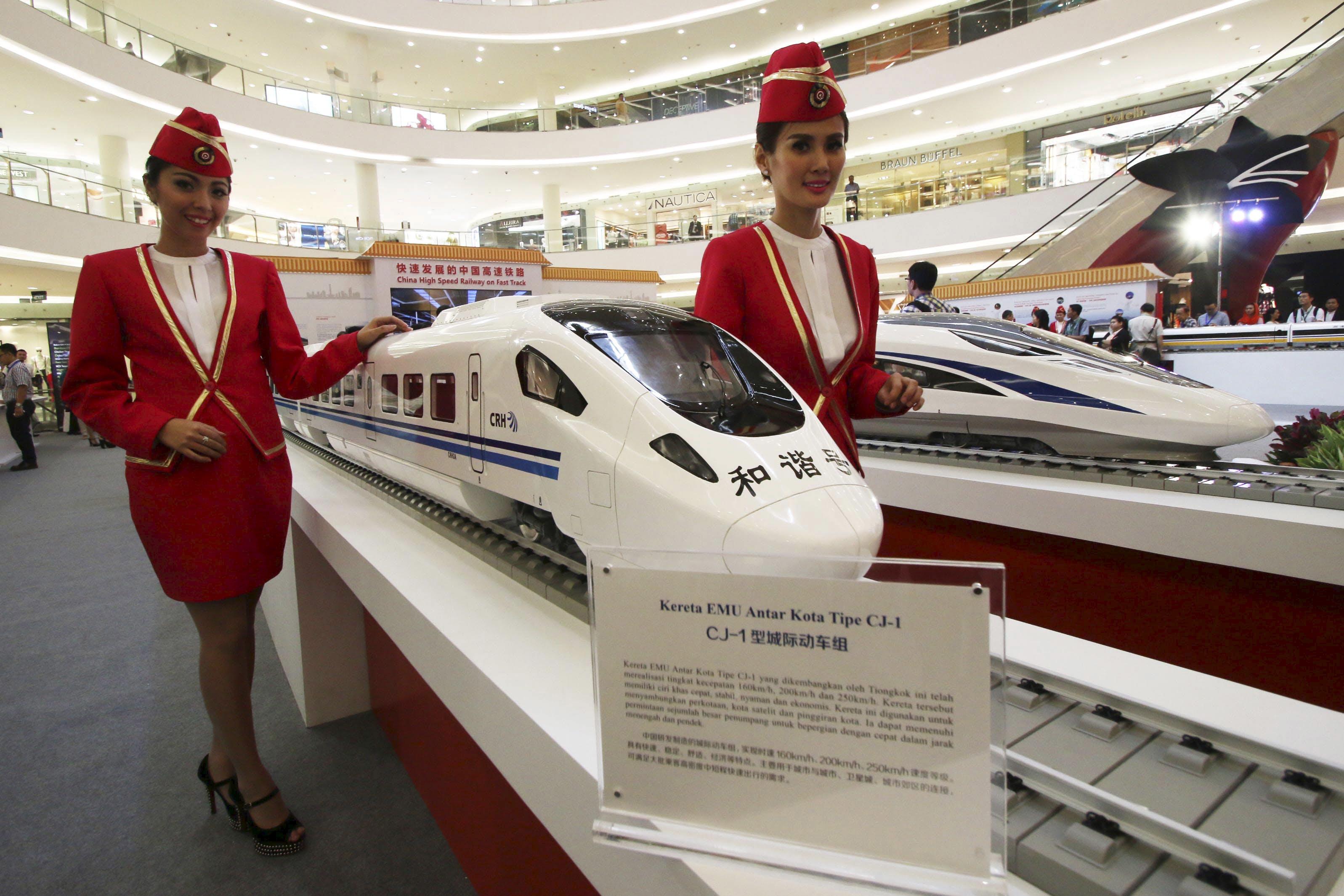 印尼高鐵搶輸中國 日本官員:難以理解的「巨大恥辱」