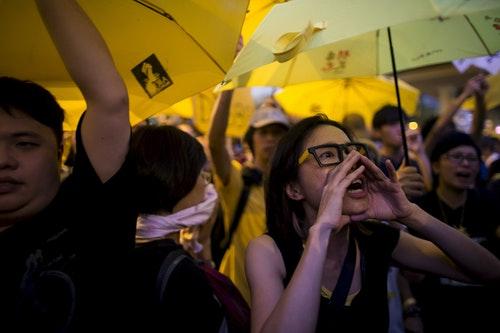 香港_雨傘