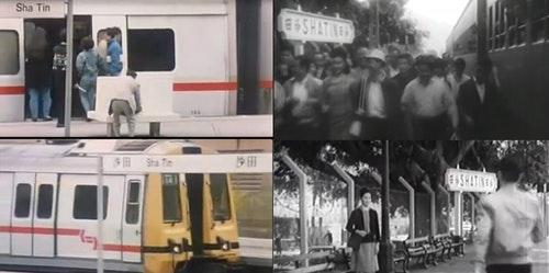 電影截圖,由作者提供。 圖左:《花心夢裡人》(1989) 圖右上:《孽債親情|》(1964);圖右下:《艷鬼緣》(1964)