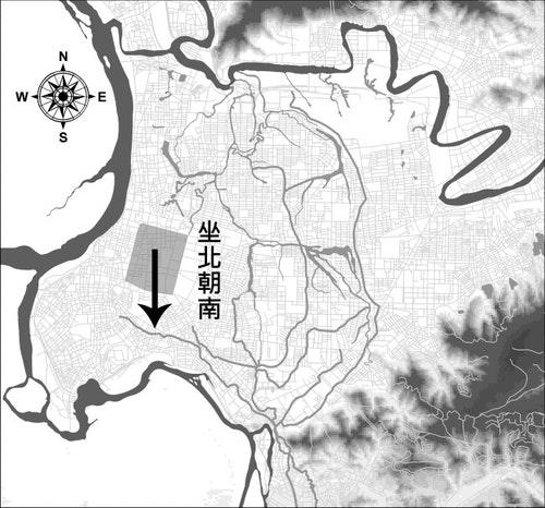 臺北城坐北朝南