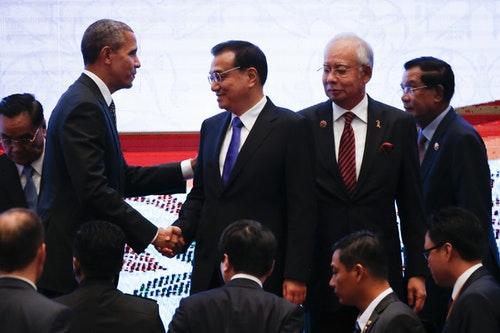 李克強_歐巴馬_納吉_Barack Obama, Li Keqiang, Najib Razak