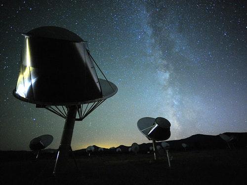 Allen Telescope Array Photo Credit: Seth Shostak, SETI Institute