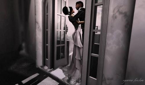 虛擬現實遊戲Second Life可以舉行夢幻婚禮。Photo Credit: Second Life