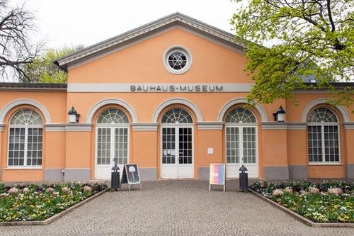 位於德國威瑪的包浩斯博物館。Photo Credit : Corbis/達志影像