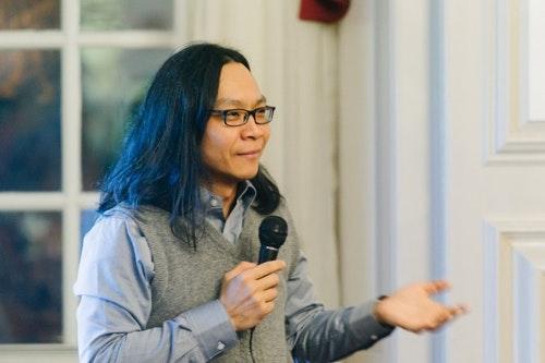 葉浩老師於演講中|攝影: Yi-Chien Chang