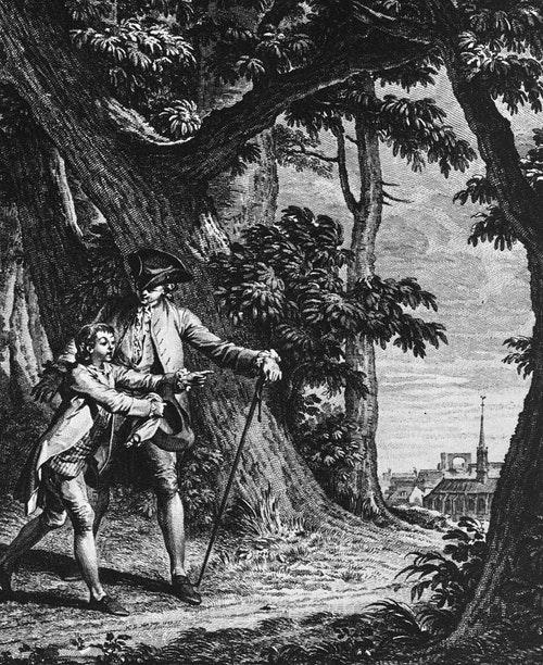盧梭的《愛彌兒》是「自然主義教育」的代表|Photo Credit: Wikimedia Commons Public Domain