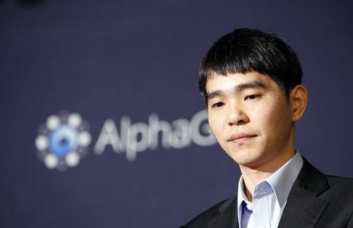 Lee Sedol. Photo credit: AP/Lee Jin-man/達志影像