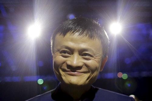 馬雲 Alibaba Executive Chairman Jack Ma attends the World Climate Change Conference 2015 (COP21) at Le Bourget, near Paris, France