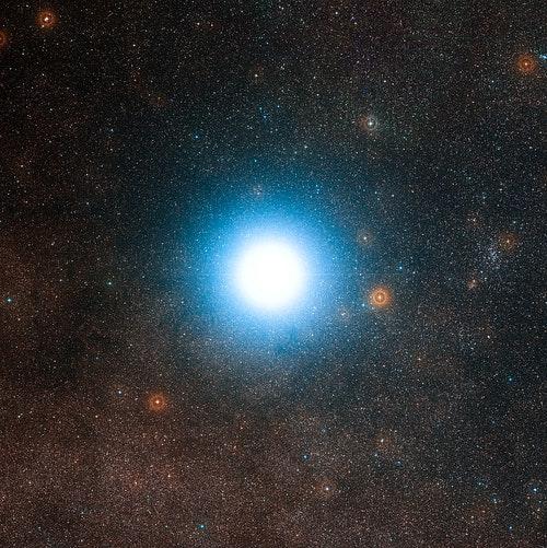 南門二。Photo Credit: ESO/DSS 2CC By 4.0