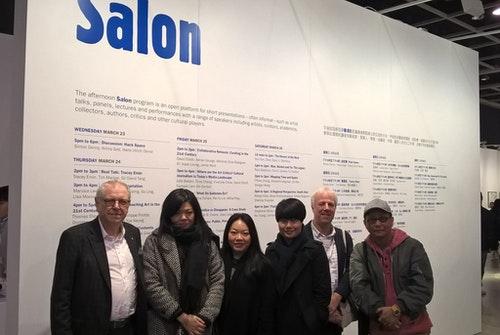 (左起)大衛•艾略特(David Elliot)、Vivienne Chow、鄭天儀、林家維、約翰•百德(John Batten)、何兆彬。Photo Credit:梁寶山