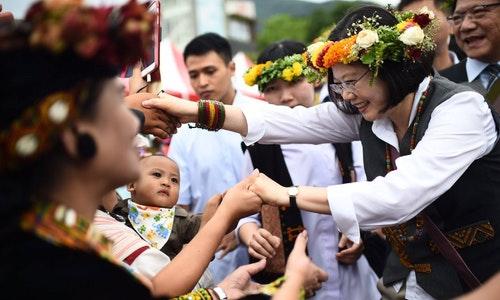 蔡英文_原住民_TSAI ING WEN_ABORIGINAL TAIWANESE