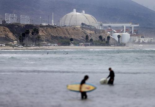 加州最後一座核電廠  San Onofre