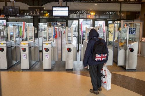 Railway strike in France