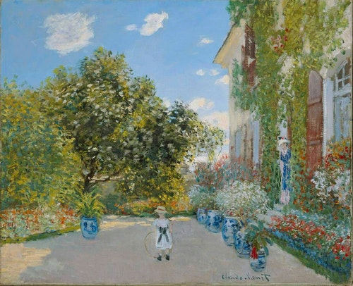 Claude_Monet_-_The_Artist's_House_at_Arg