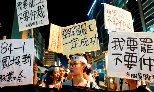 CHINA AIRLINES STRIKE_華航罷工
