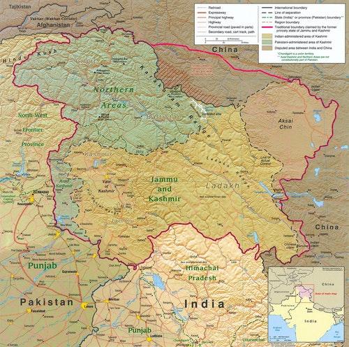 Kashmir Region 2004 喀什米爾
