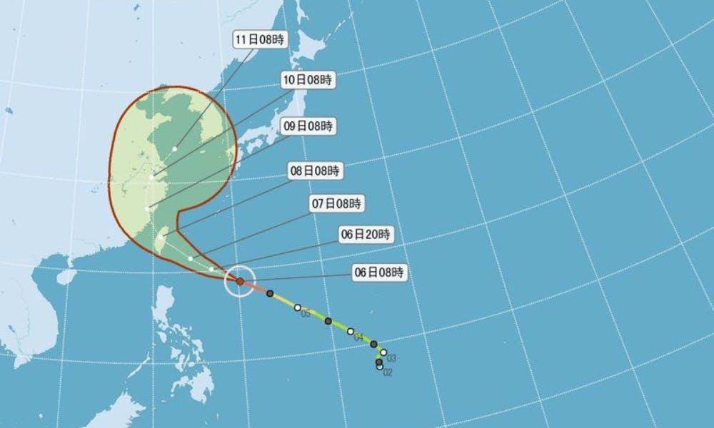 強烈颱風尼伯特