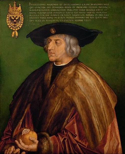 Portrait-of-Maximilian-I