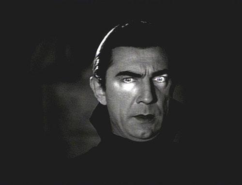 吸血鬼 Count Dracula as portrayed by Béla Lugosi in 1931's Dracula.