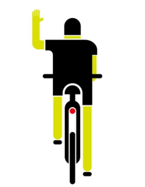 自行車方向指示1