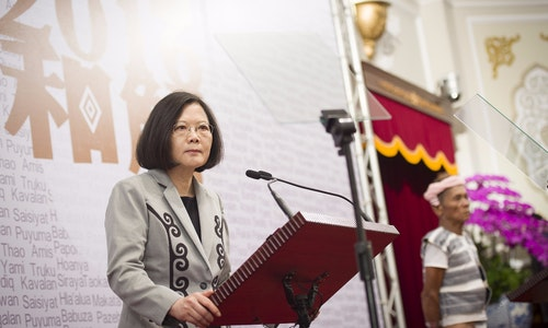 蔡英文 08.01 總統代表政府向原住民族道歉