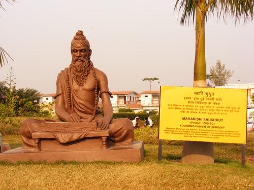 Shushrut_statue