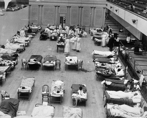 1918_flu_in_Oakland