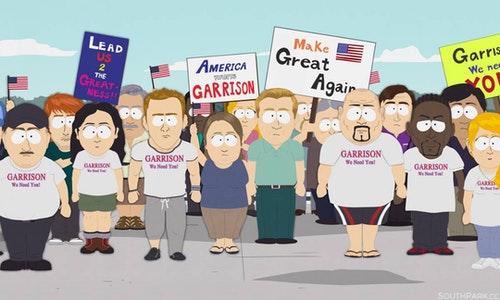 South Park Vote Garrison