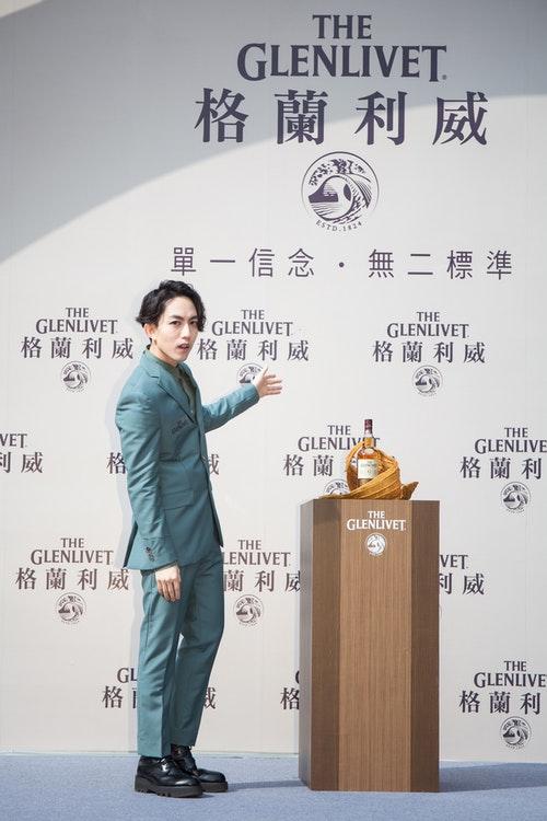 迷幻王子林宥嘉出席《格蘭利威Excellence金緻雪莉桶12年》記者會_金艷現