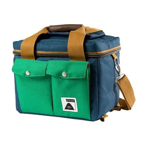 POLER STUFF保冰野餐包/相機包(側背)-藍綠色