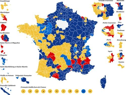 2017法國總統大選第一輪