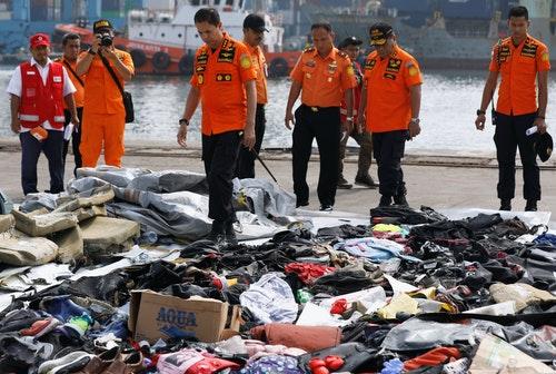 印尼獅航JT610班機在加拉璜附近海域墜毀 Lion Air