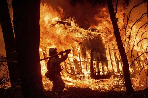 加州野火森林大火火災