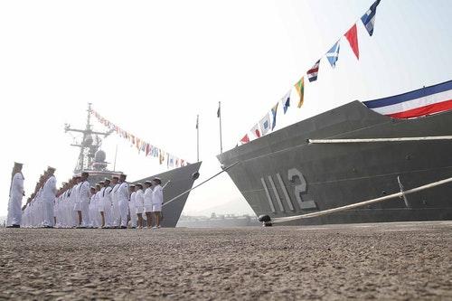 派里級雙艦高雄成軍 駐防146艦隊